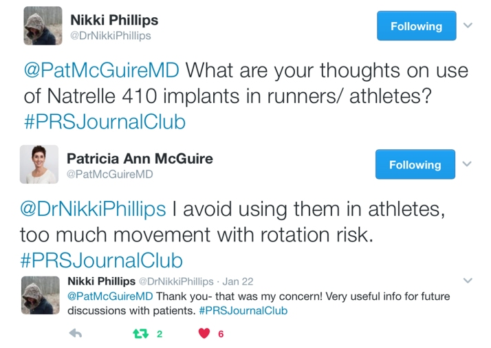 2. January 2017 #PRSJournalClub Recap